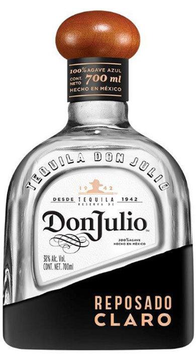 Bottle of Don Julio Reposado Claro