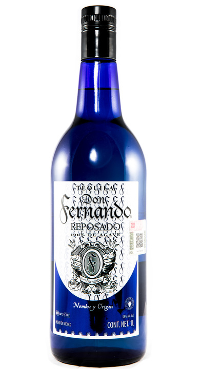 Bottle of Don Fernando Reposado