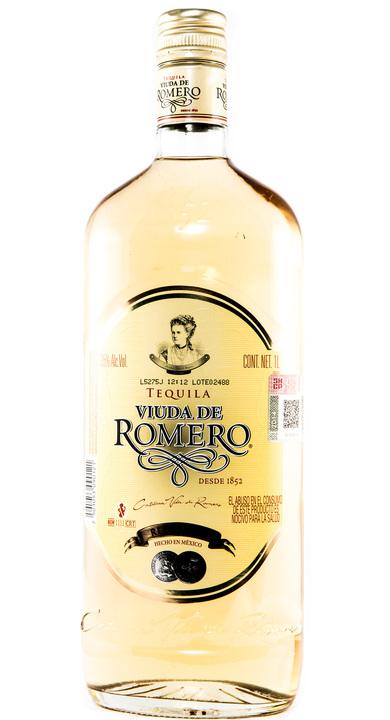 Bottle of Viuda de Romero Reposado