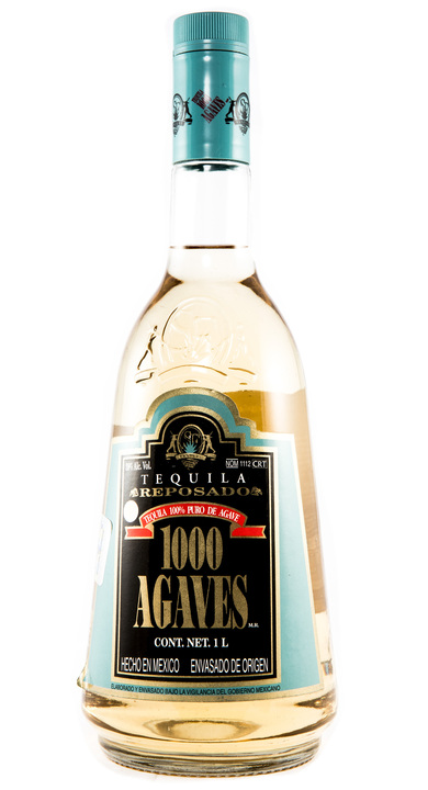 Bottle of 1000 Agaves Reposado
