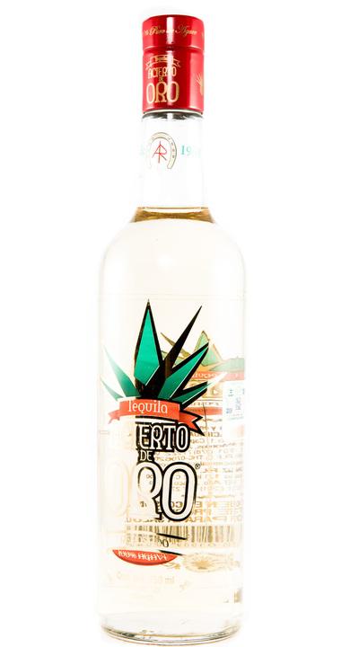 Bottle of Acierto de Oro Reposado