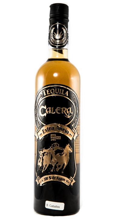 Bottle of Calera Tequila Extra Añejo
