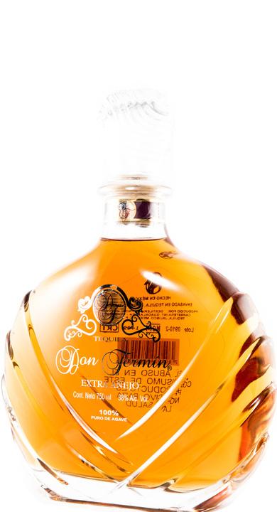 Bottle of Don Fermin Tequila Extra Añejo