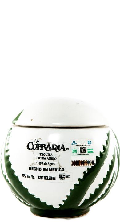 Bottle of La Cofradia Extra Añejo