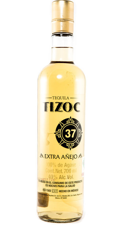 Bottle of Tizoc Extra Añejo