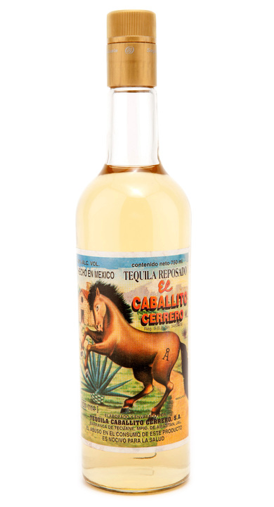 Bottle of El Caballito Cerrero Reposado