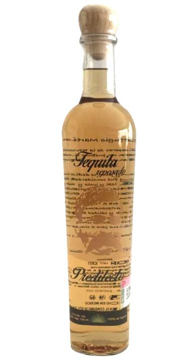 Bottle of Predilecto Tequila Reposado