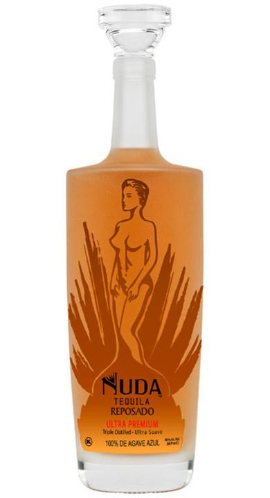 Bottle of Nuda Tequila Reposado