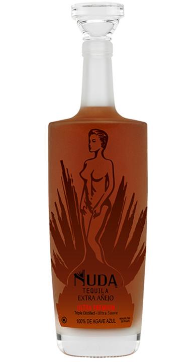 Bottle of Nuda Tequila Extra Añejo