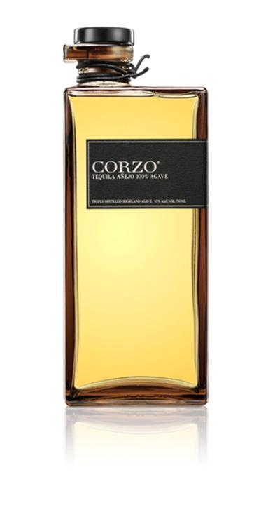 Bottle of Corzo Añejo Tequila