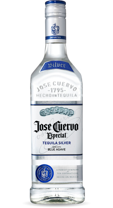 Bottle of Jose Cuervo Especial Silver