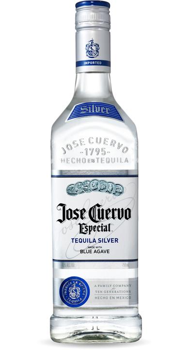 Bottle of Jose Cuervo Especial Silver