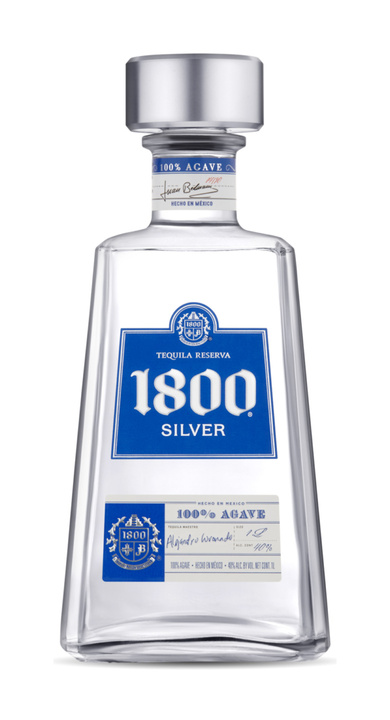 Bottle of 1800 Silver