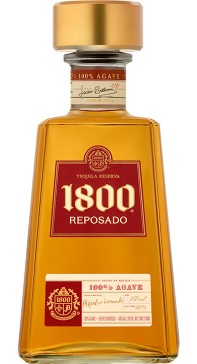 Bottle of 1800 Reposado