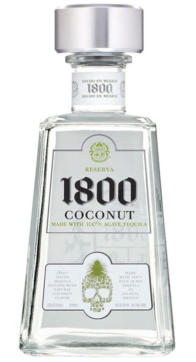 Bottle of 1800 Coconut Blanco