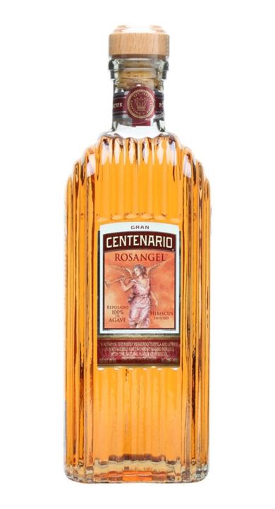 Bottle of Gran Centenario Rosangel