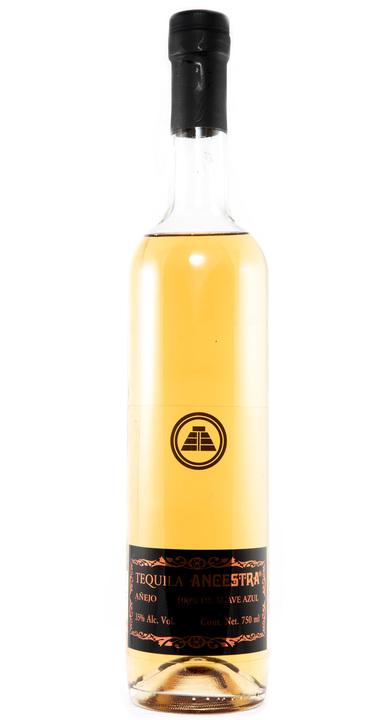 Bottle of Ancestra Single Barrel Añejo