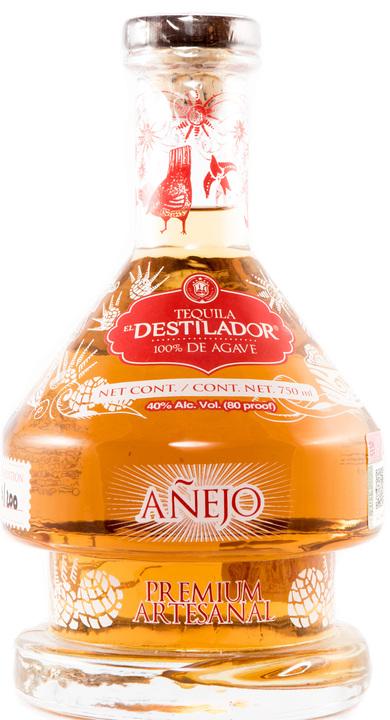Bottle of El Destilador Añejo