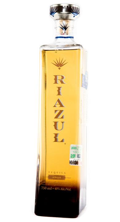 Bottle of Riazul Añejo