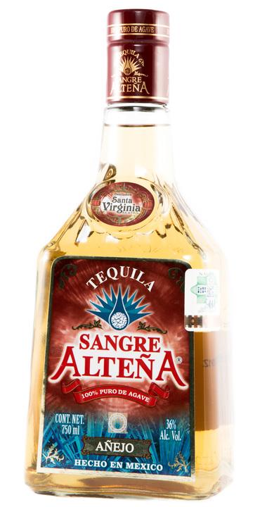 Bottle of Sangre Alteña Añejo