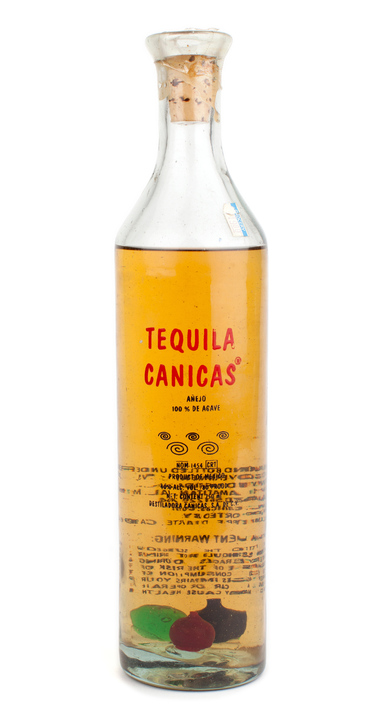 Bottle of Canicas Añejo