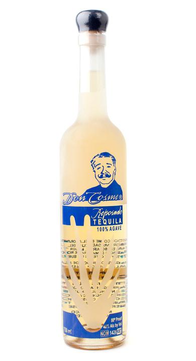 Bottle of Don Cosme Reposado