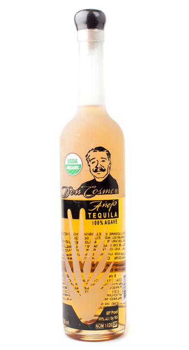 Bottle of Don Cosme Añejo