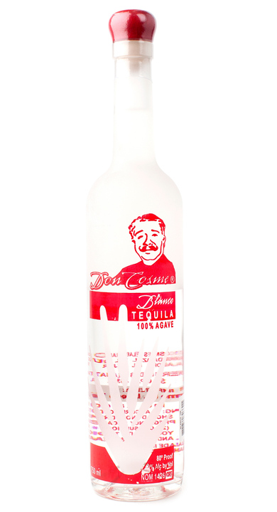 Bottle of Don Cosme Blanco