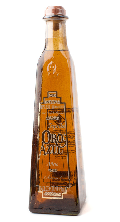 Bottle of Oro Azul Añejo
