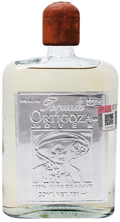Bottle of Tequila Ortigoza Joven