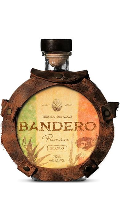 Bottle of Bandero Blanco Tequila