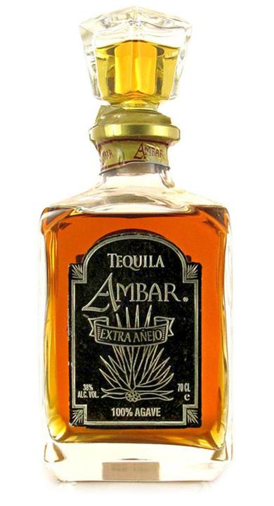 Bottle of Ambar Extra Añejo