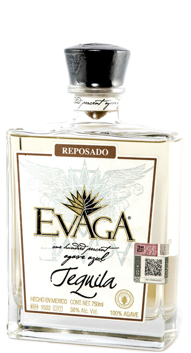 Bottle of Evaga Reposado