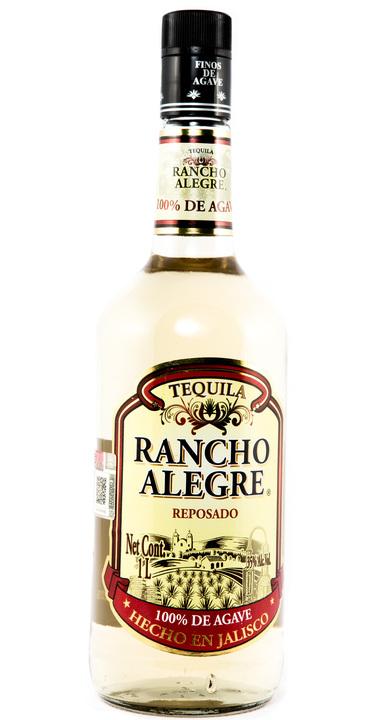 Bottle of Rancho Alegre Reposado
