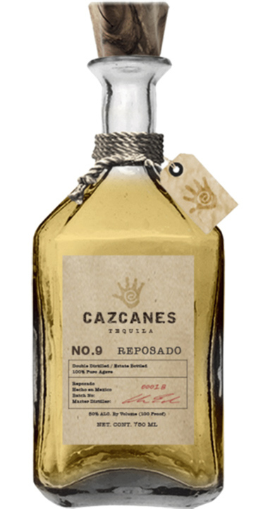 Bottle of Cazcanes No. 9 Reposado