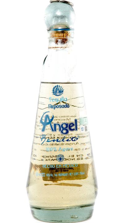 Bottle of Angel Bendito Reposado