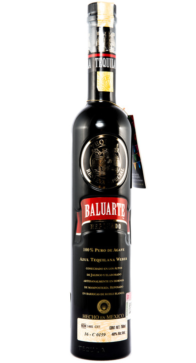 Bottle of Baluarte Reposado