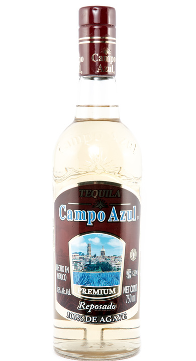 Bottle of Campo Azul Reposado