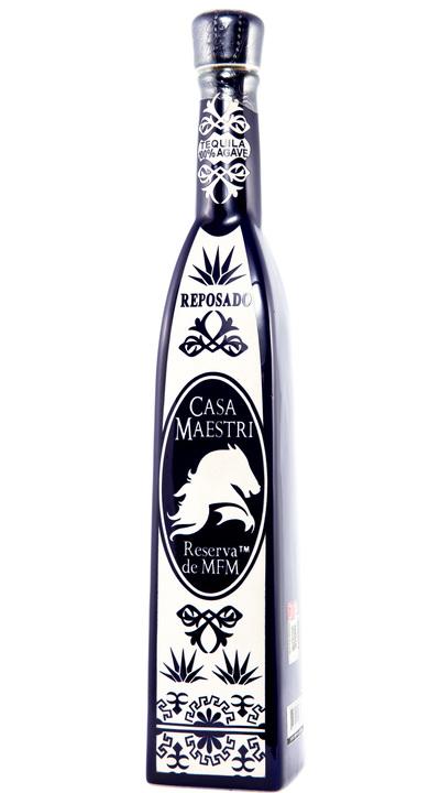 Bottle of Casa Maestri Reserva de MFM Reposado