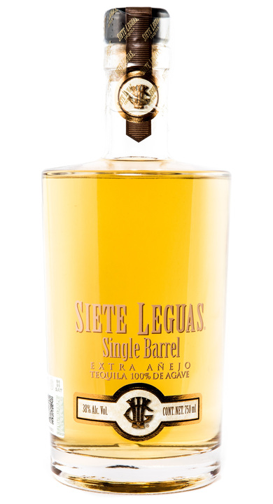Bottle of Siete Leguas Single Barrel Extra Añejo