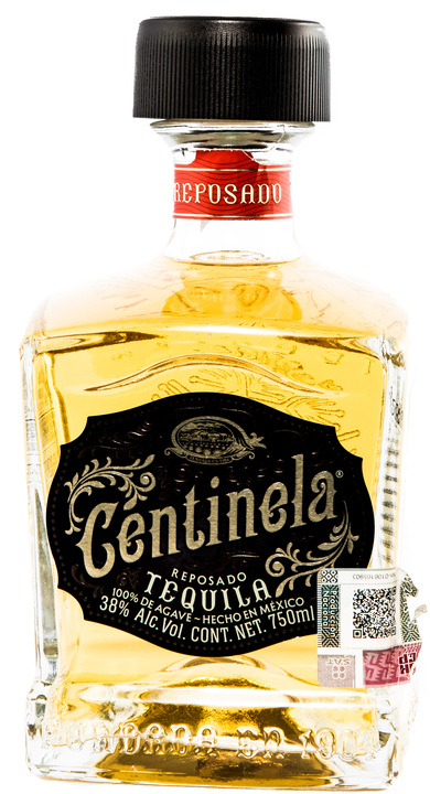 Bottle of Centinela Reposado (Square Bottle)