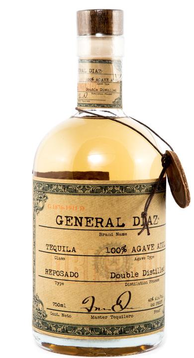 Bottle of General Diaz Reposado