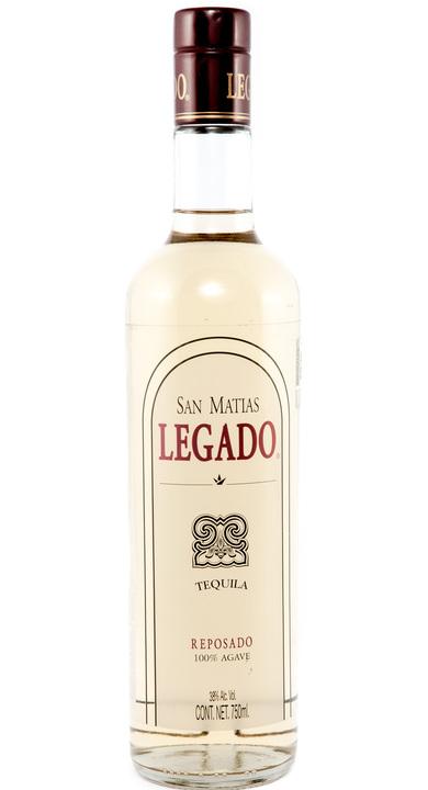 Bottle of San Matías Legado Reposado