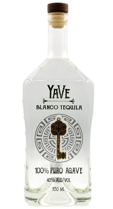 Bottle of YaVe Blanco Tequila