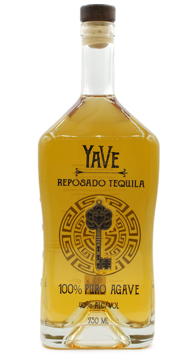Bottle of YaVe Reposado Tequila