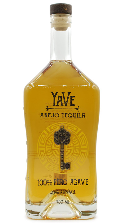 Bottle of YaVe Añejo Tequila