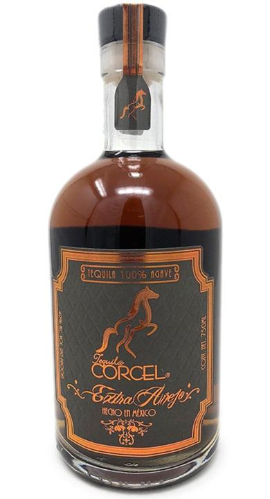 Bottle of Tequila Corcel Extra Añejo