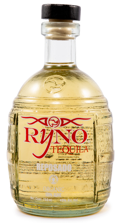 Bottle of Ryno Tequila Reposado