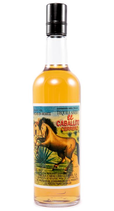 Bottle of El Caballito Cerrero Añejo 5 Años