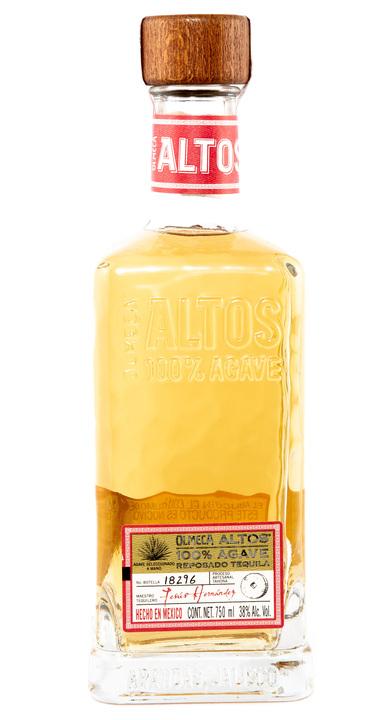 Bottle of Olmeca Altos Reposado
